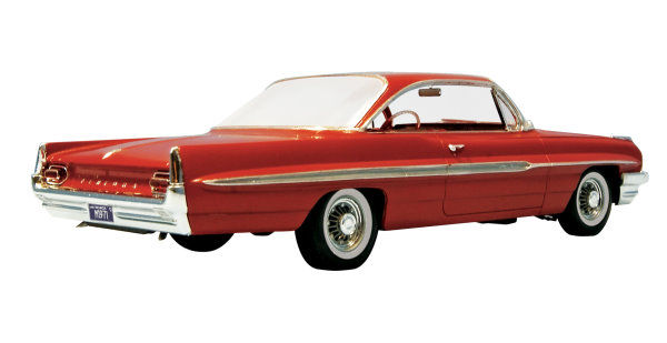 Kit Cars To Build Yourself In Usa: 1961 Pontiac Ventura SD From Moebius Models