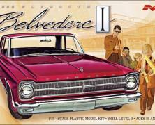 Sneak Peak: 1965 Plymouth Belvedere coming from Moebius