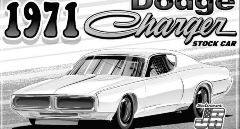 1971 Dodge Charger Stock Car