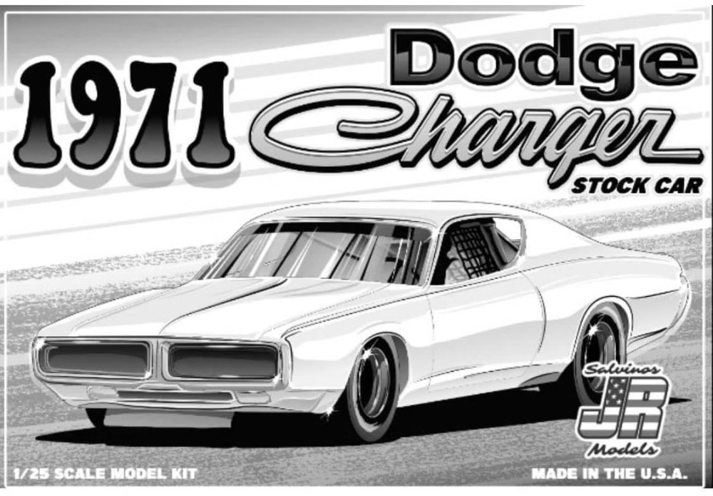Dodge Charger Stock Car box cover